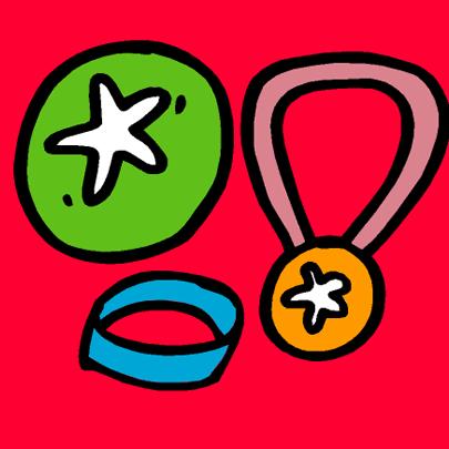 personalised badge packs