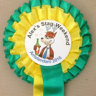 Stag Night Rosettes