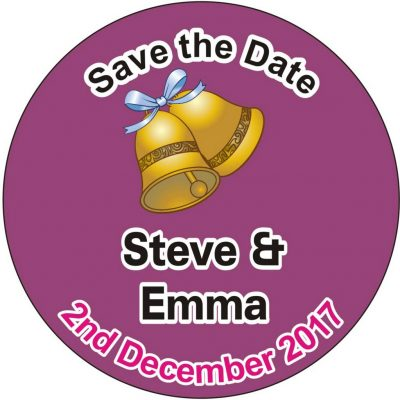 Save The Date Fridge Magnets - use as Invitations