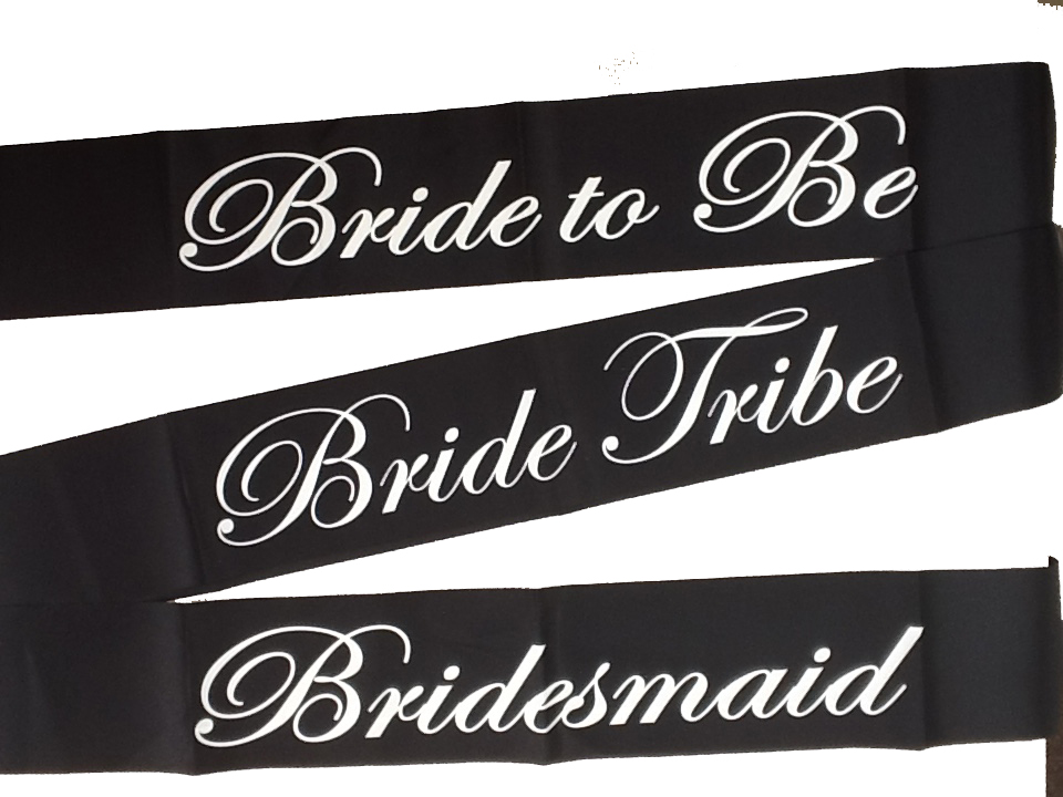 Off the Shelf Sashes for Hen Nights