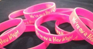 Off the Shelf Silicone Wristbands for hen nights