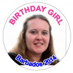 Photo Birthday Badges